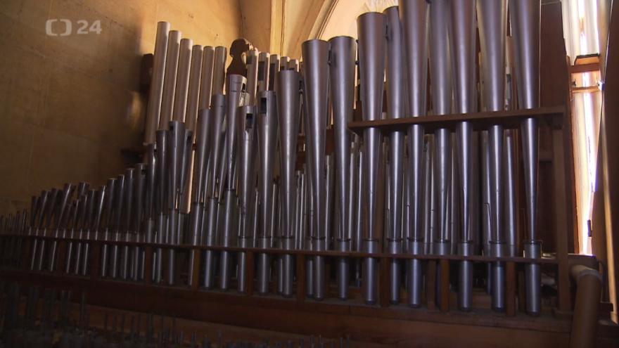Video Svatovítské varhany