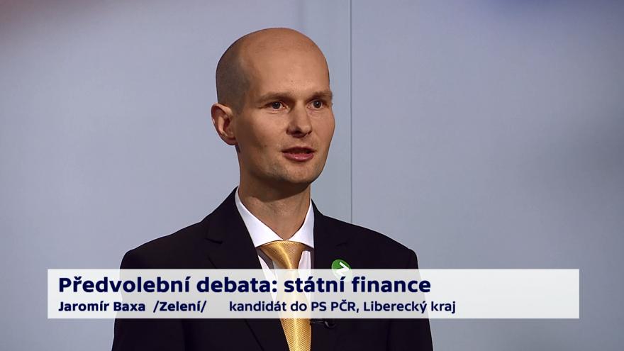 Video Baxa o prioritách ministerstva financí
