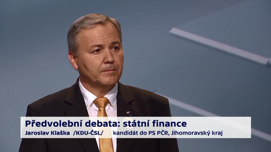 Video Klaška o prioritách ministerstva financí