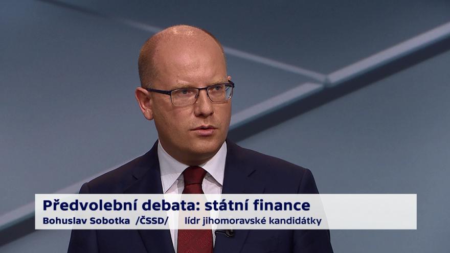 Video Sobotka o prioritách ministerstva financí