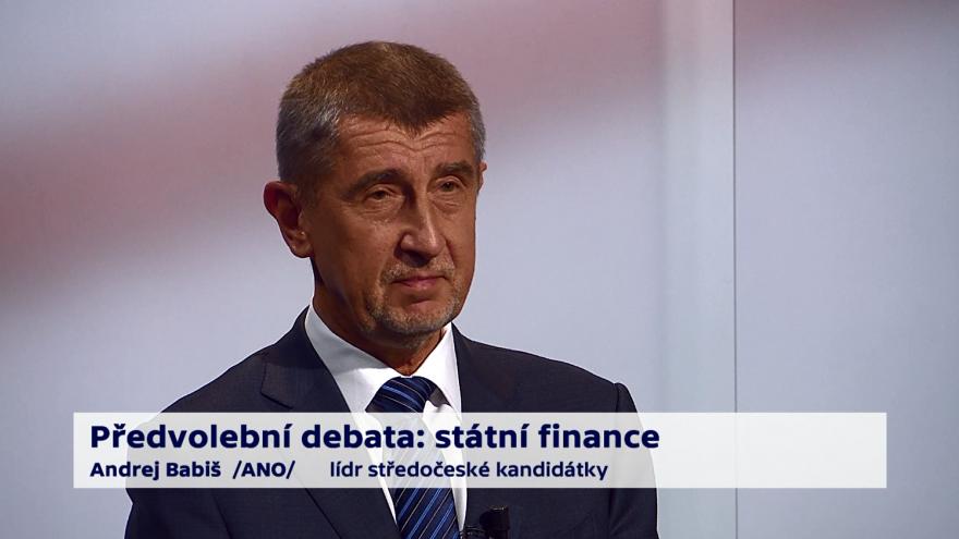 Video Babiš o prioritách ministerstva financí
