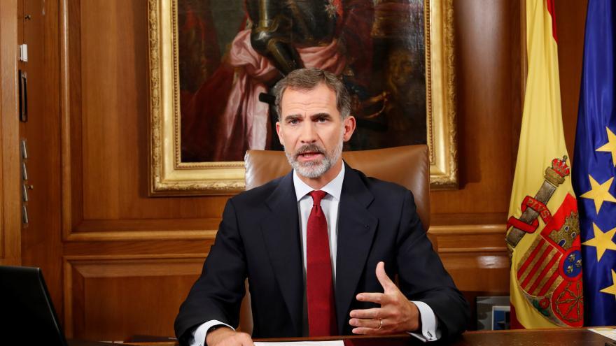 Video Král kritizoval katalánské vedení