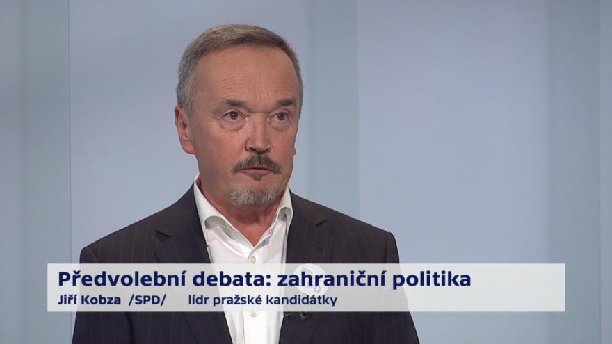 Video Kobza o prioritách zahraniční politiky ČR