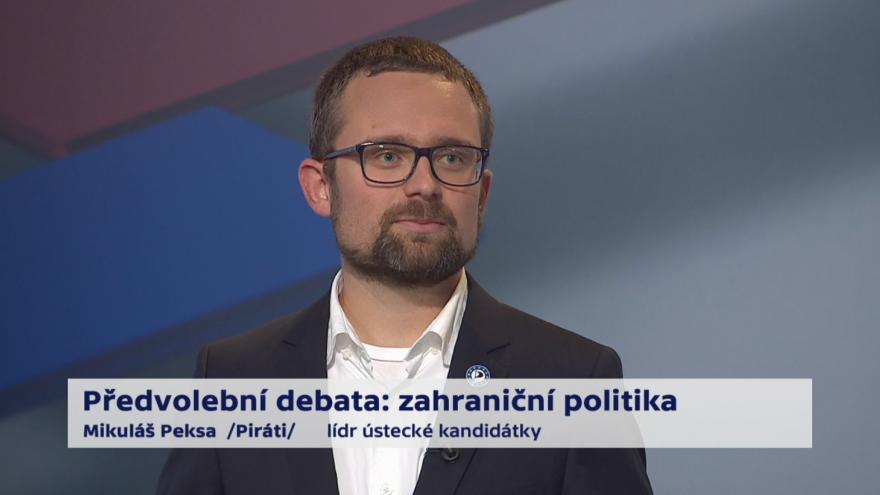 Video Peksa o prioritách zahraniční politiky ČR