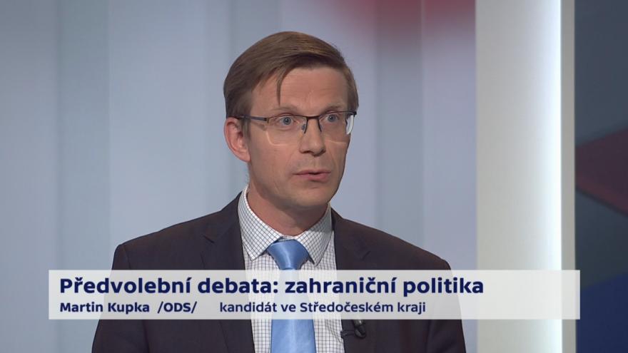 Video Kupka o prioritách zahraniční politiky ČR