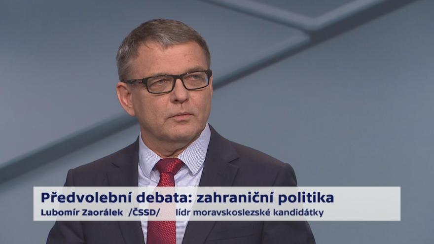 Video Zaorálek o prioritách zahraniční politiky ČR