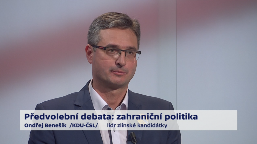 Video Benešík o zahraničních vztazích ČR