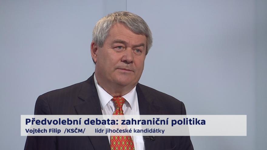 Video Filip o vztazích ČR s Ruskem