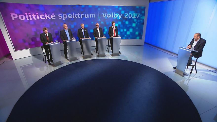 Video Politické spektrum - Volby 2017