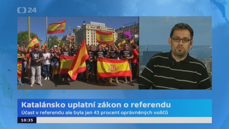 Video Radim Zámec ke katalánskému referendu