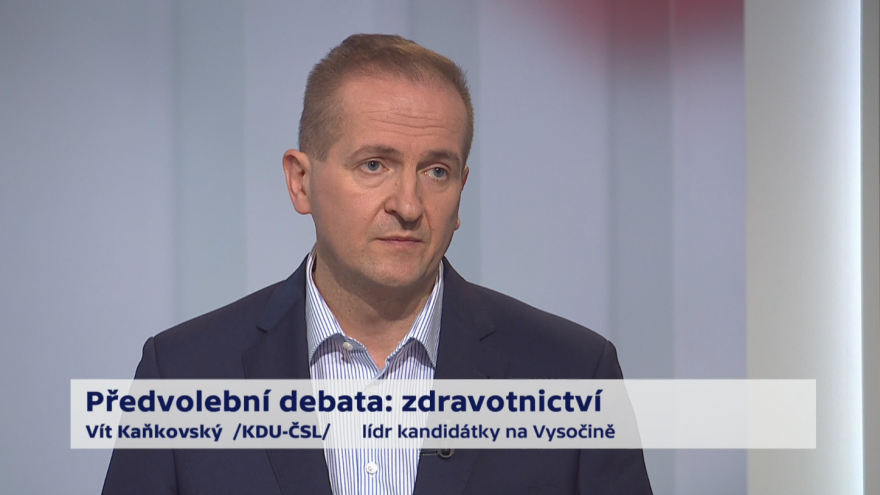 Video Kaňkovský o platech ve zdravotnictví