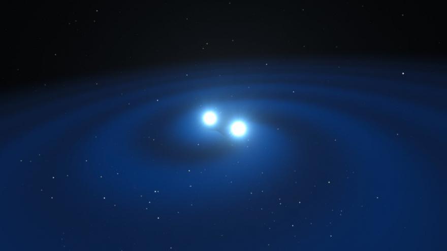 Video Materiál ESO k objevu gravitačních vln
