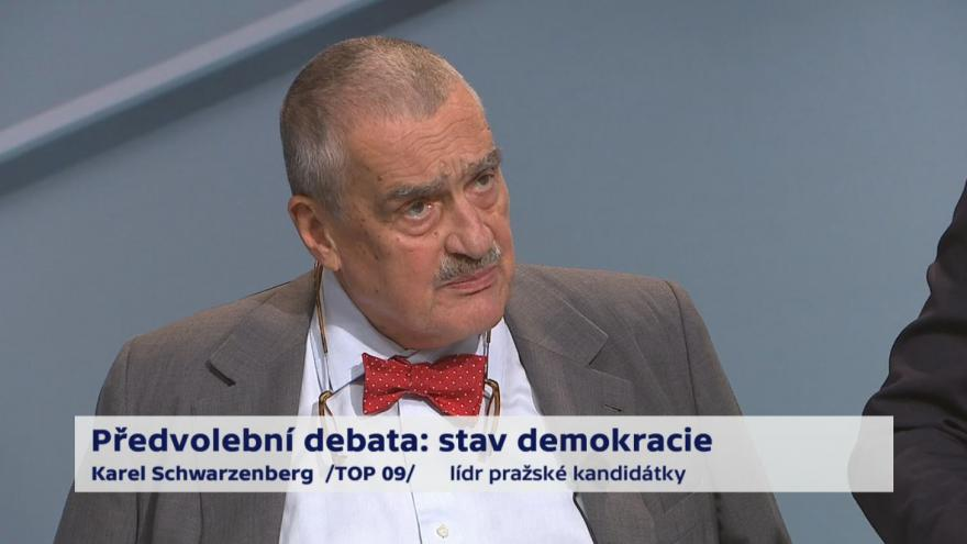 Video Schwarzenberg o financování politických stran