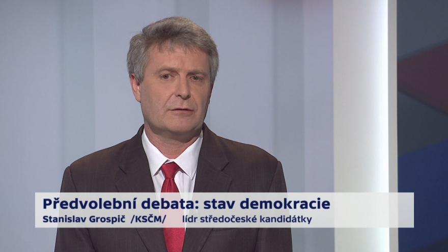Video Grospič a Schwarzenberg o referendu a klouzavých mandátech