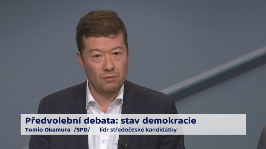 Video Okamura o referendu