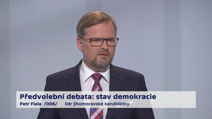 Video Fiala o referendu a klouzavých mandátech