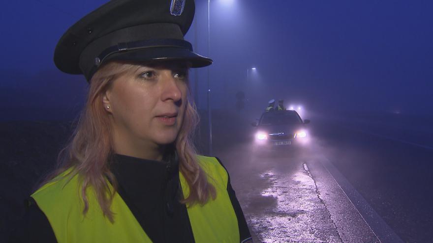 Video Mluvčí Policie ČR Vyškov Alice Musilová vysvětluje význam reflexních prvků