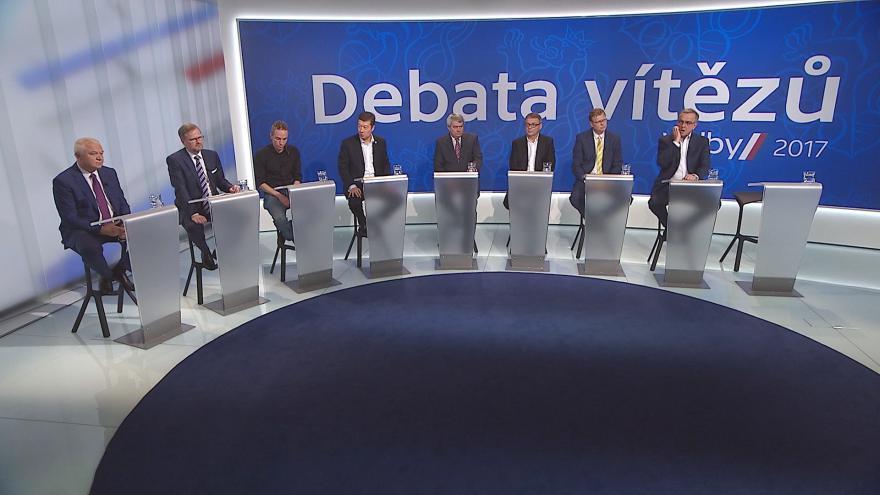 Video Povolební diskuze ČT: Začíná jednání o nové sněmovně i vládní koalici
