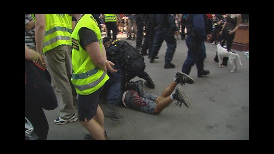 Video Policejní zásah u vily Milada v roce 2012