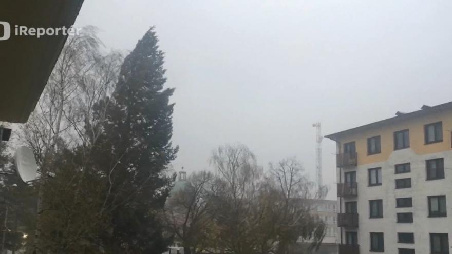 Video Lázně Bohdaneč za bouřky