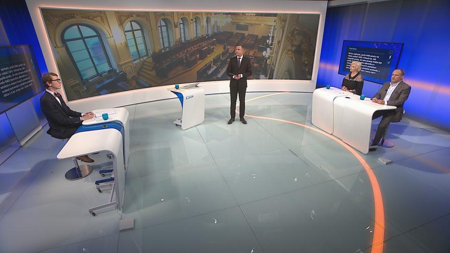 Video 90' ČT24 - Jak se hledá podpora pro menšinovou vládu