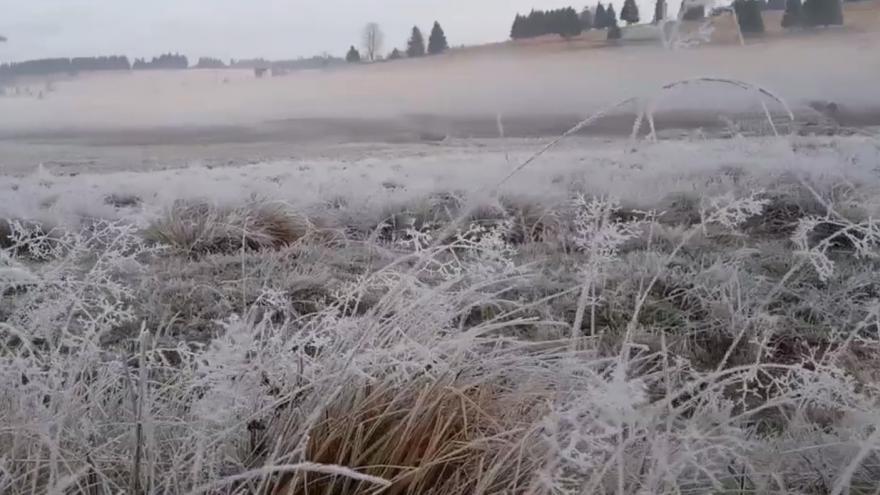 Video Mrazivé ráno v Krušných horách