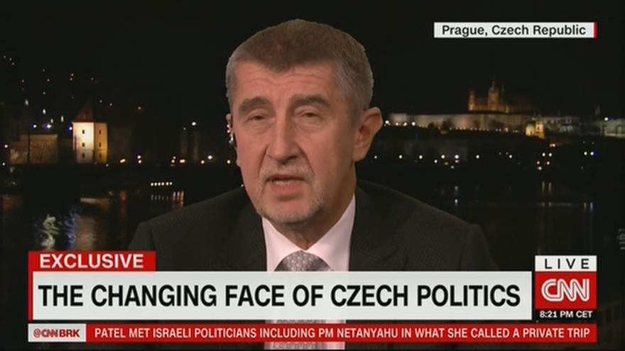 Video Rozhovor Andreje Babiše pro CNN