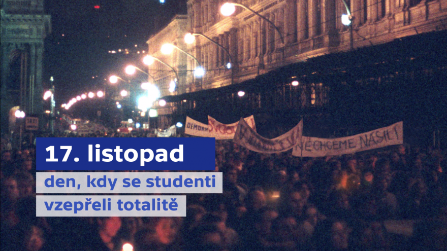 Video Česko si připomíná 17. listopad