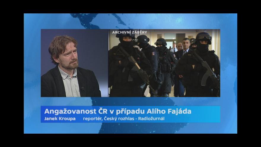 Video Kroupa: Fajád patří v šedé zóně mezi deset nejdůležitějších obchodníků se zbraněmi