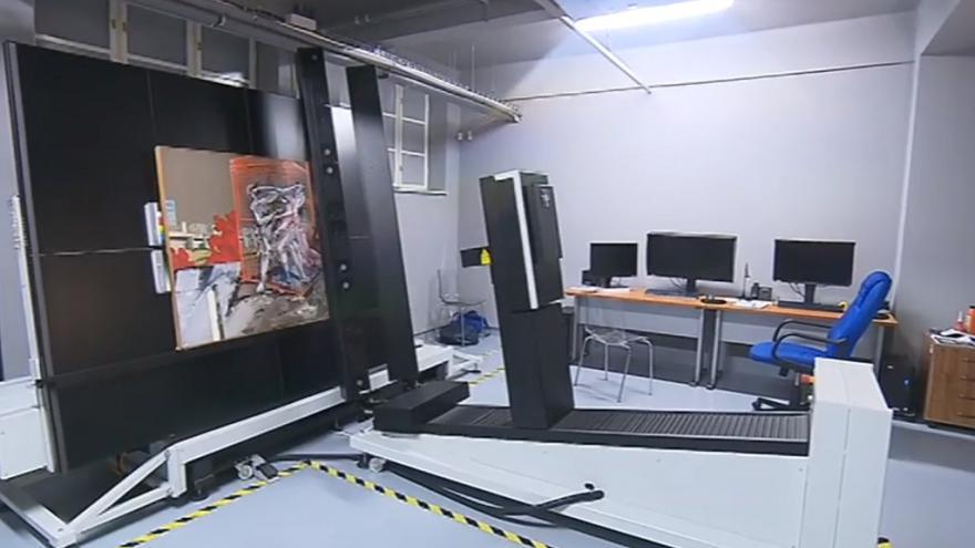 Video Obří skener v Ostravě