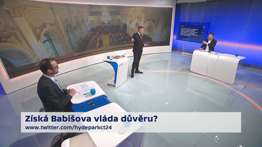 Video 90' ČT24 - Babišův kabinet se představuje