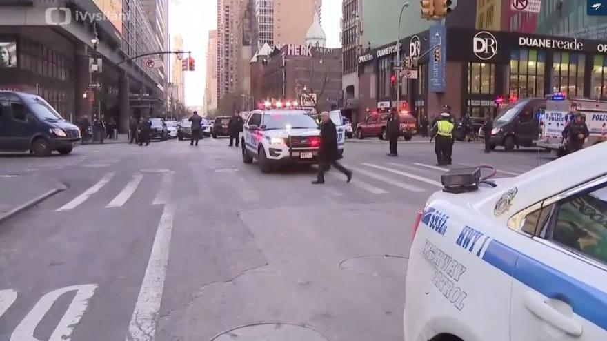 Video Na Manhattanu se ozvala exploze