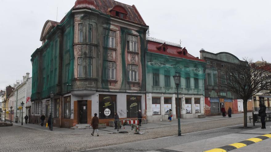 Video Karviná opraví historické domy