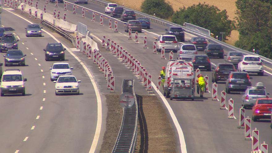 Video O komplikacích na nedokončeném úseku D1 informovalo Ředitelství silnic a dálnic