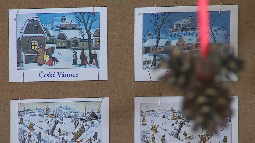 Video Výstava pohlednic Josefa Lady na zámku v Miroslavi