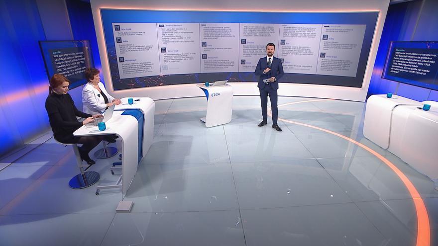 Video 90' ČT24 - Politický rok 2018