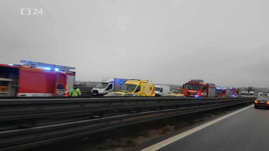 Video Nehoda na 200. kilometru D1