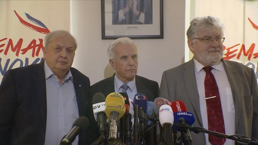 Video Tisková konference ke zdravotnímu stavu Miloše Zemana