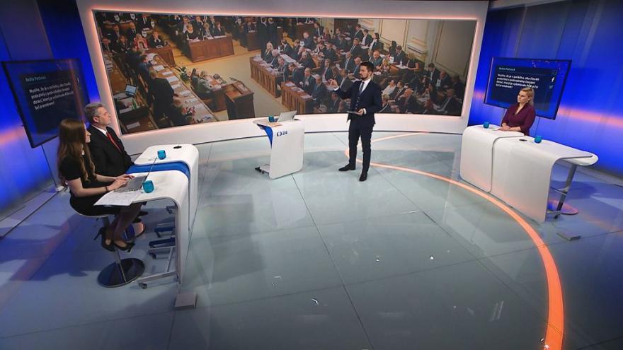 Video 90' ČT24 - Mandátový výbor PS řeší kauzu Čapí hnízdo