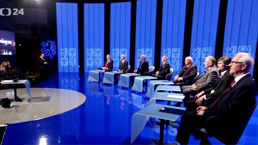 Video Volba prezidenta ČR 2018 - Prezidentská debata