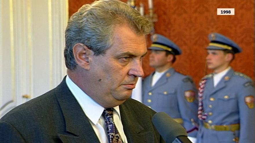 Video Miloš Zeman stál v čele vlády i sociální demokracie