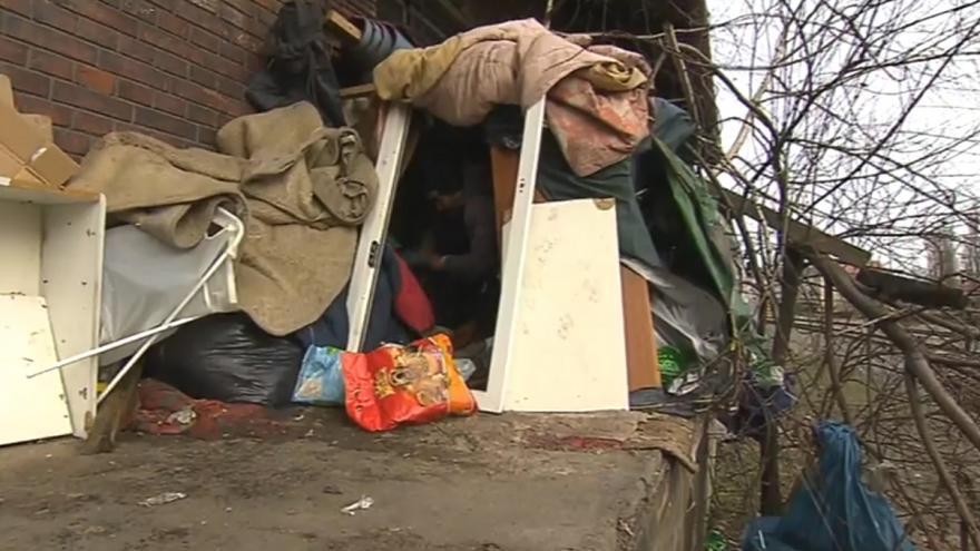 Video Potíže s bezdomovci