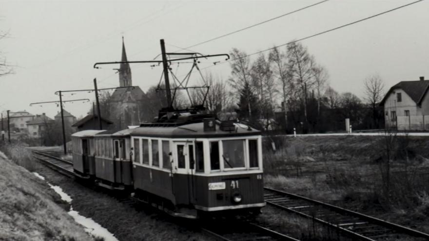 Video Před 40 lety vyjela u Klimkovic poslední tramvaj