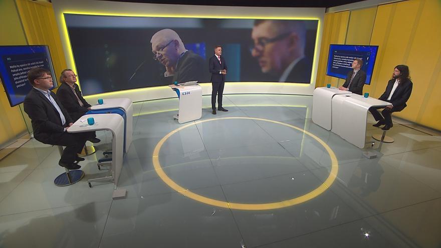Video 90' ČT24 - Babišův kabinet bez důvěry
