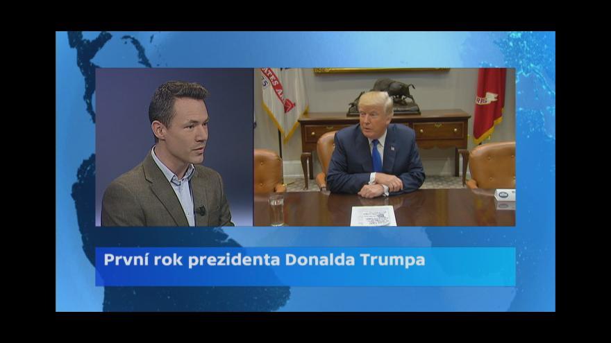 Video Bývalý zpravodaj ČT v USA Martin Řezníček: Je to stále ten Donald Trump, jak jsme ho znali z kampaně