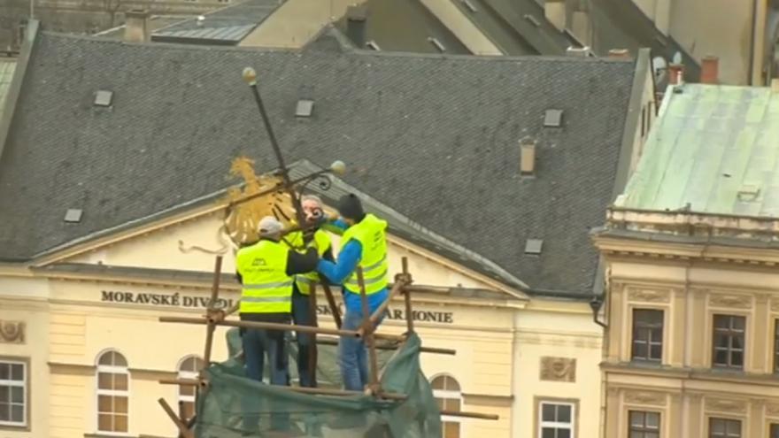 Video Oprava olomoucké radnice