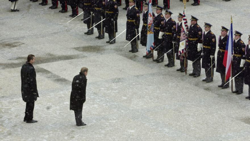 Video Archiv ČT24: Inaugurace Václava Havla prezidentem 1993