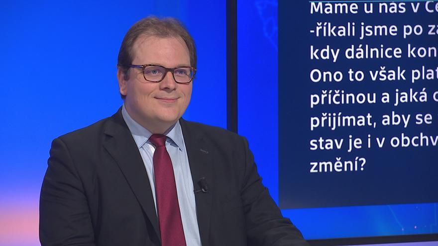 Video 90' ČT24 - Plány na zlepšení dopravních cest