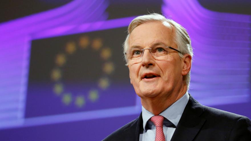 Video Barnier: Doufáme, že dialog mezi britskou vládou a labouristy povede ke kladnému výsledku
