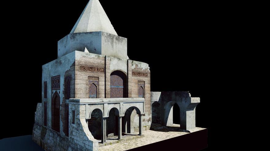Video Památky Mosulu v 3D